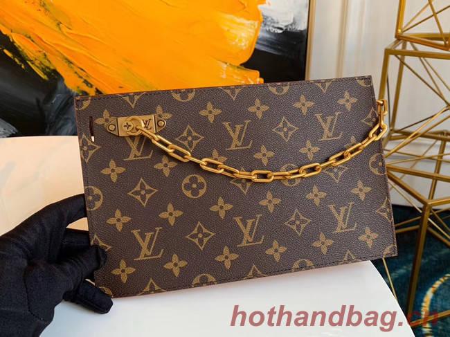 Louis Vuitton Original Monogram Canvas Zipper Clutch bag M44388