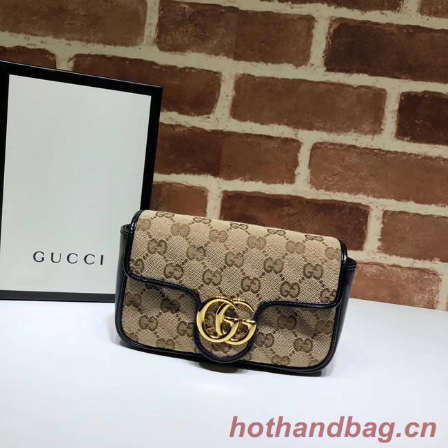 Gucci GG Marmont mini shoulder bag 574969 black