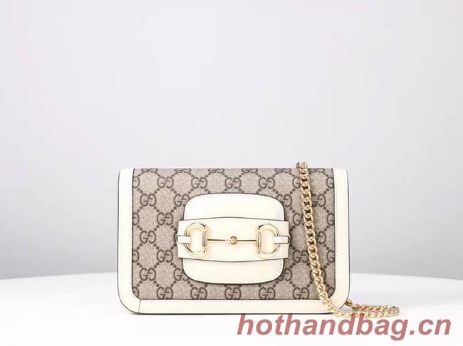Gucci GG Marmont mini shoulder bag 600663 white