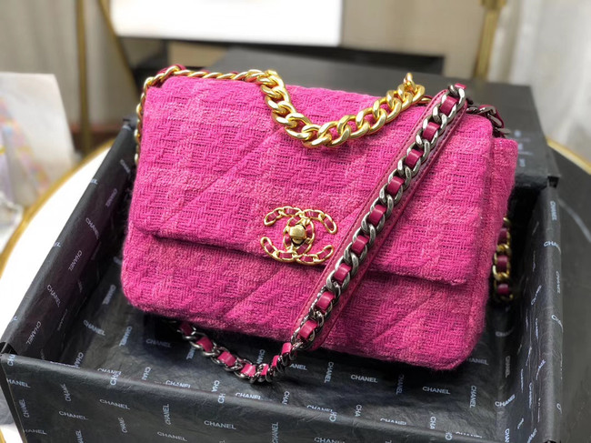 CHANEL 19 Flap Bag AS1160 Lavender