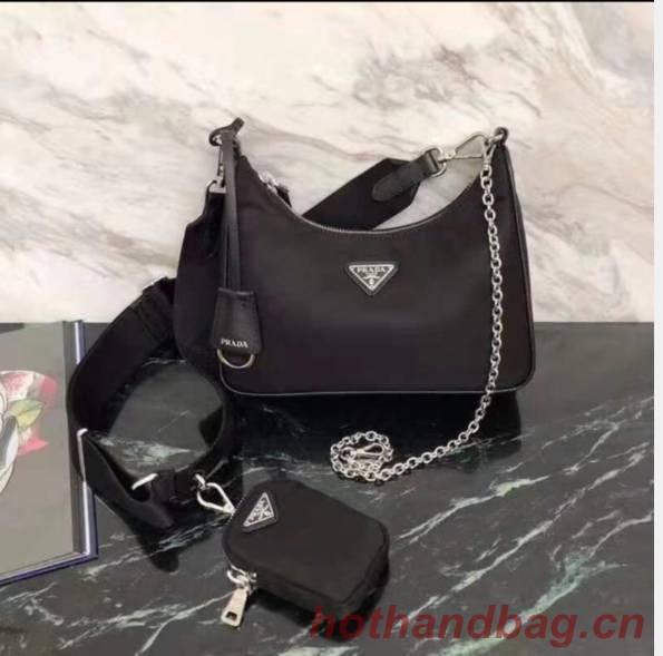 Prada Nylon tote bag 1NE516 black