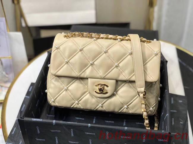 Chanel flap bag AS1202 apricot