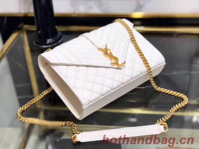 SAINT LAURENT Medium satchel 487206 white