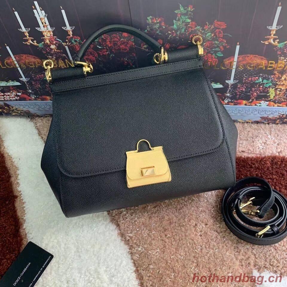 Dolce & Gabbana Origianl Leather Bag 4131 black