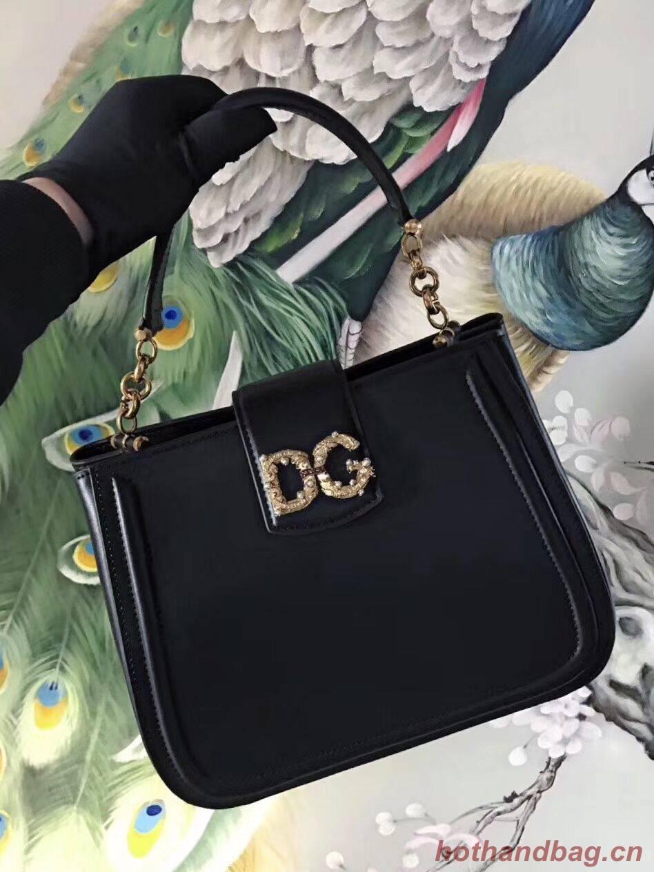 Dolce & Gabbana Origianl Leather Bag 4918 black