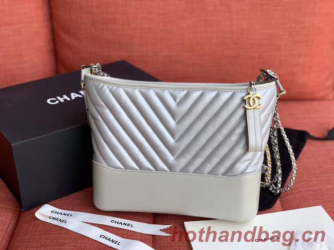 Chanel gabrielle hobo bag A93824 light blue