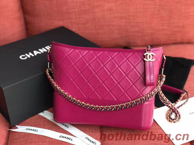 Chanel gabrielle hobo bag A93824 rose