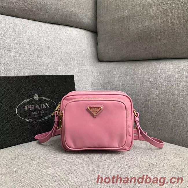 Prada Nylon Shoulder Bag 82022 pink