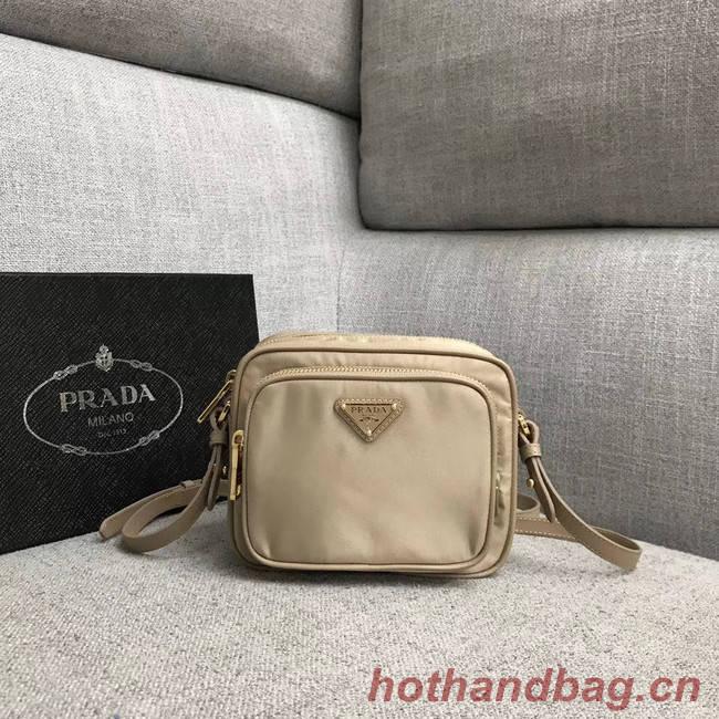 Prada Nylon Shoulder Bag 82022 apricot