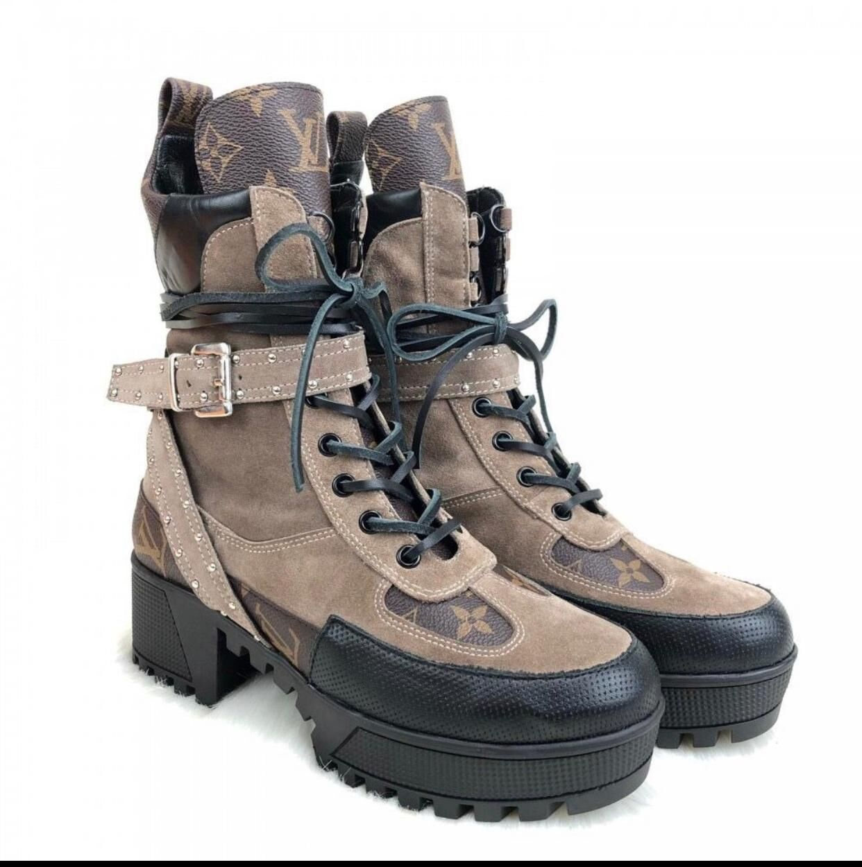 Louis Vuitton Shoes LV7568 Khaki