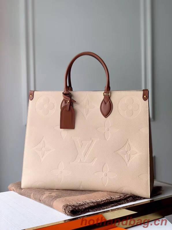 Louis Vuitton ONTHEGO M44576 Cream