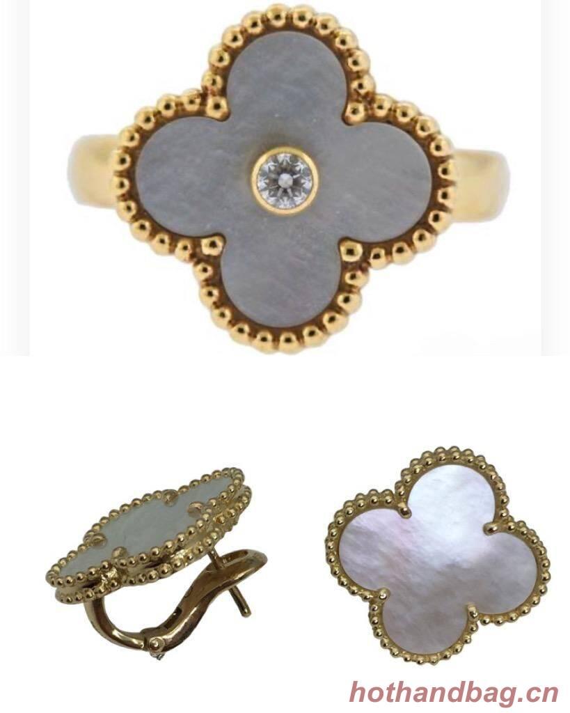 Van Cleef & Arpels Earrings or Ring VCA9087