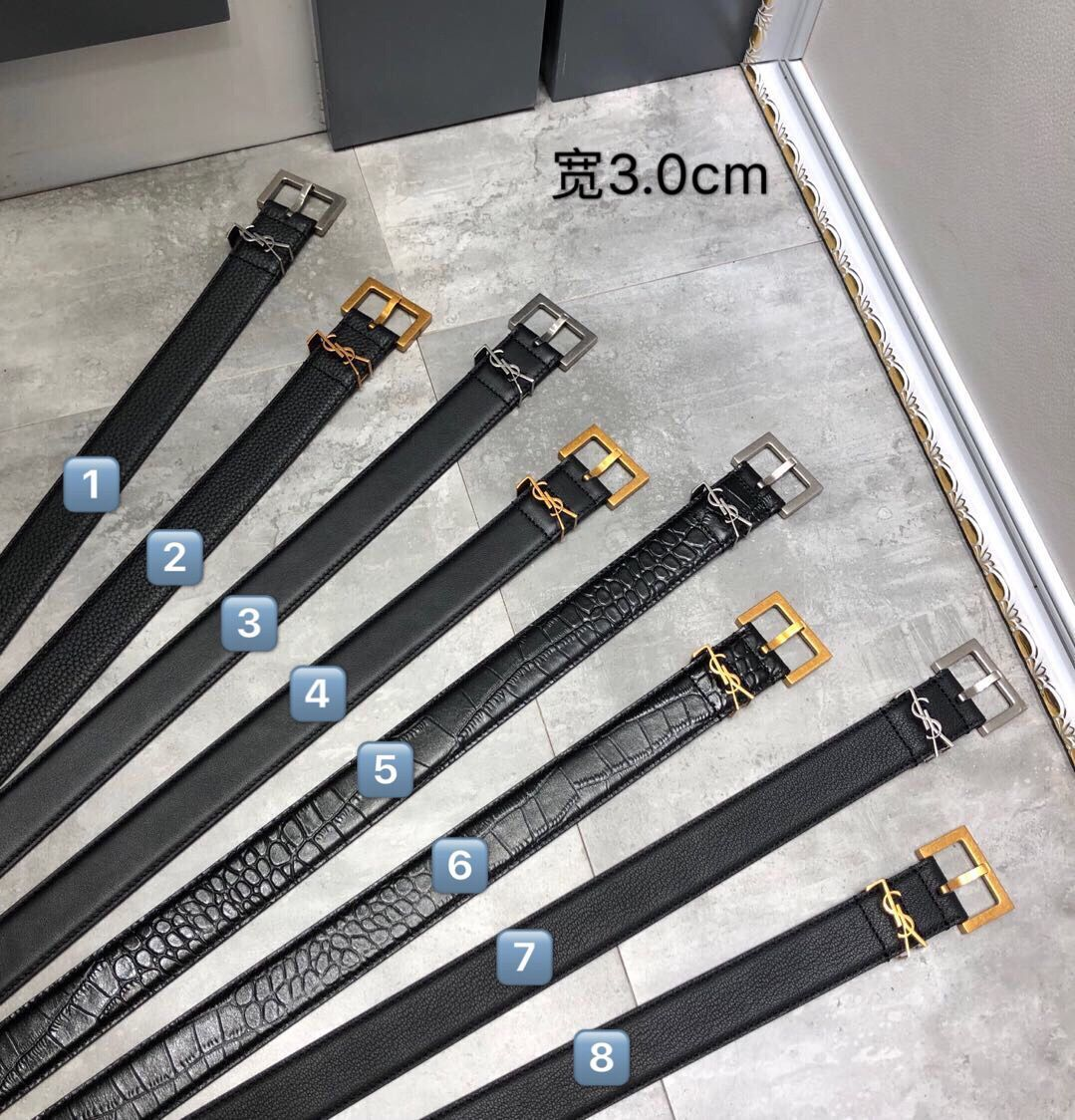 Yves Saint Laurent Leather Belt YSL5361