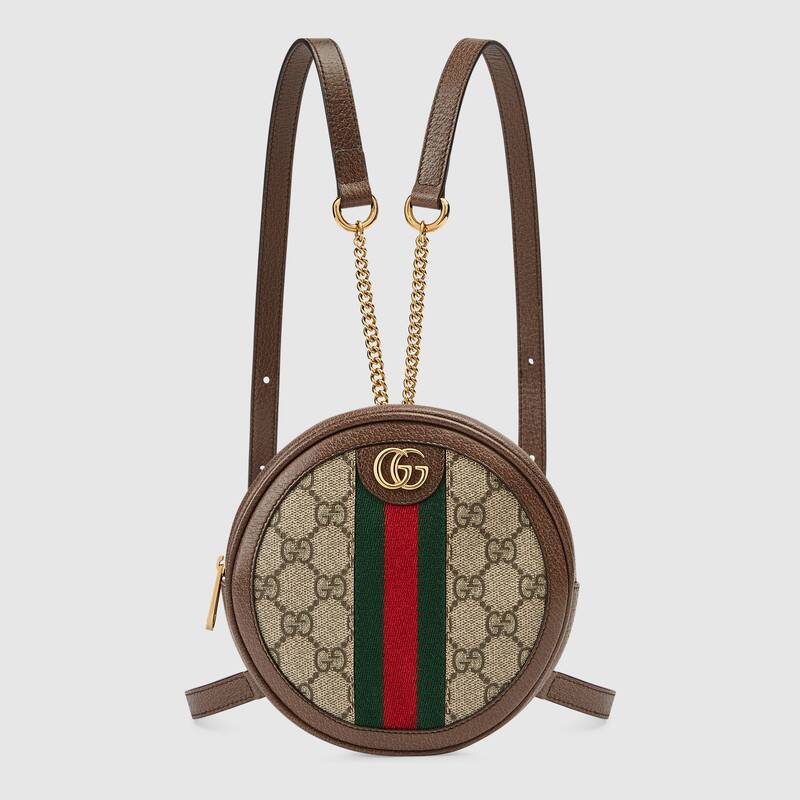 Gucci Ophidia series GG Mini Backpack 598661 brown