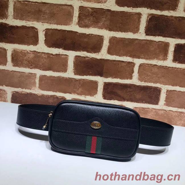 Gucci GG Original Leather belt bag 519308 black