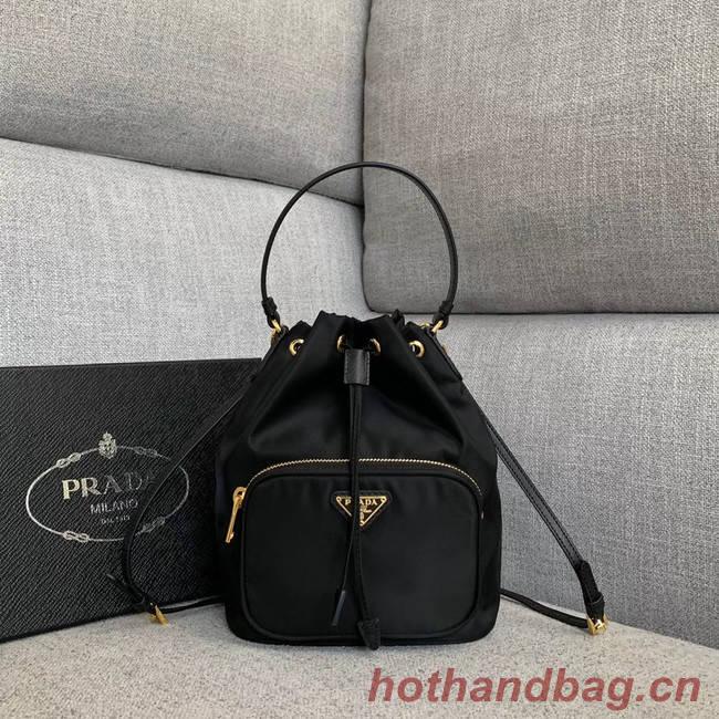 Prada Re-Edition nylon Tote bag 81166 black
