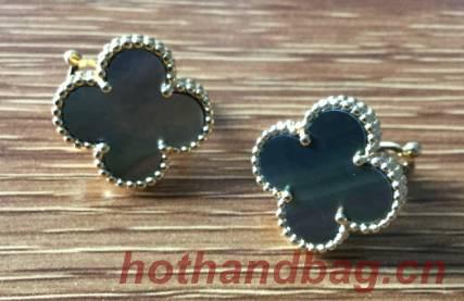 Van Cleef & Arpels Earrings VCA9087 Dark Gray