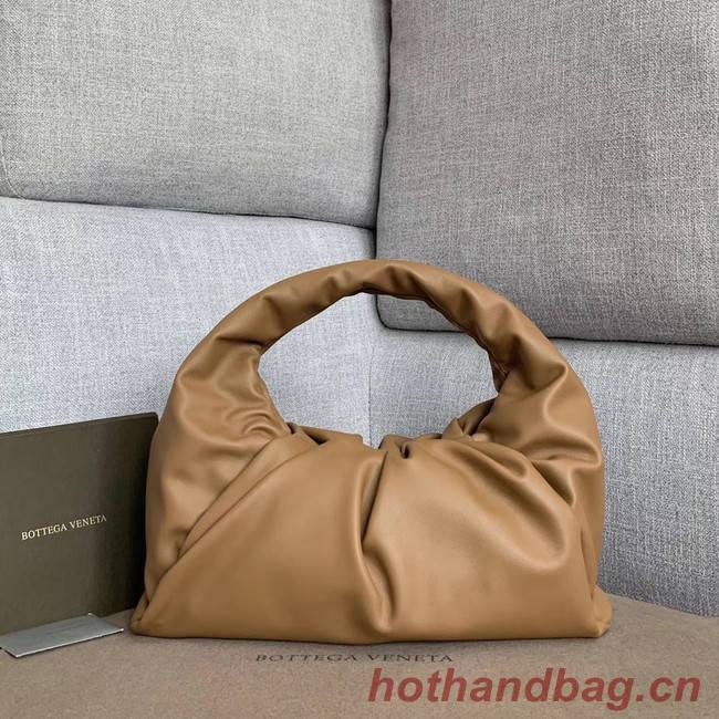 Bottega Veneta Sheepskin Original Leather 610524 apricot