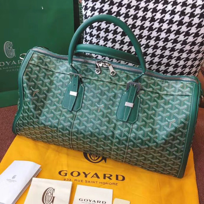 Goyard Canvas Travel bag 6958 green