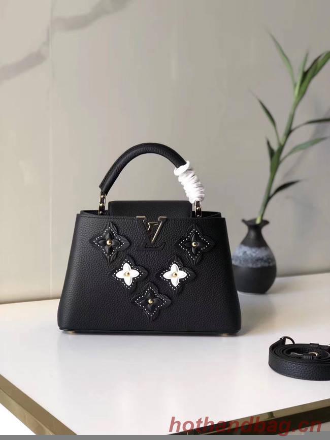 Louis Vuitton CAPUCINES BB M48865 black