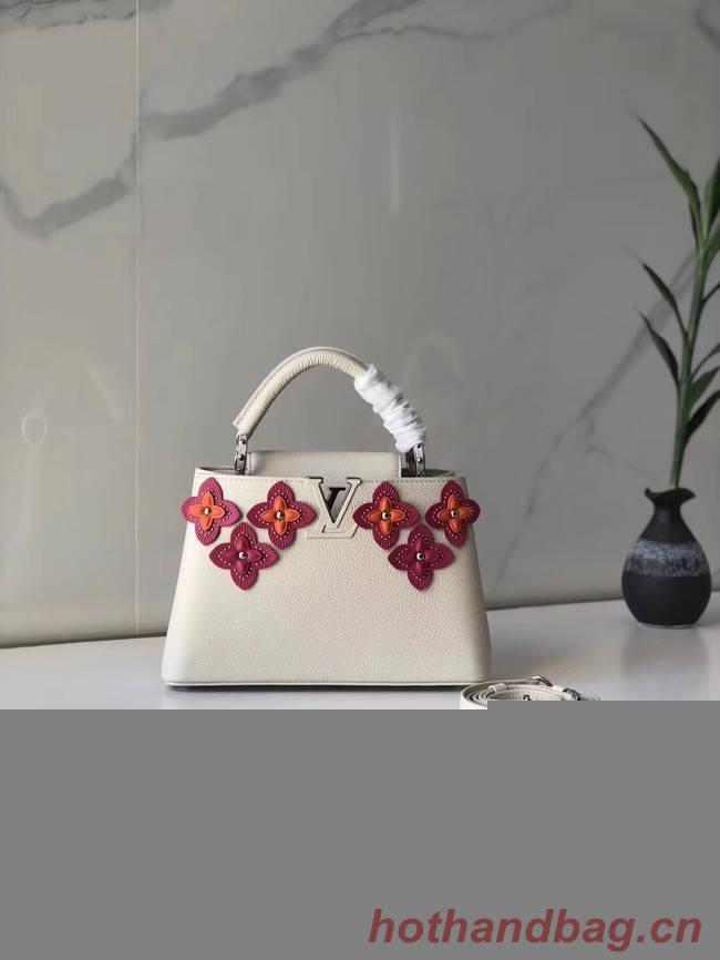 Louis Vuitton CAPUCINES BB M48865 white