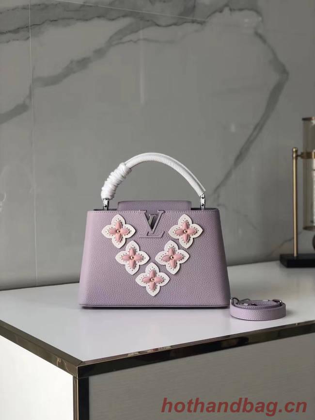 Louis Vuitton CAPUCINES PM M48866 light pink