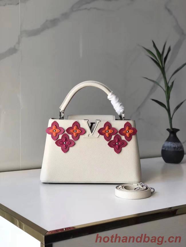 Louis Vuitton CAPUCINES PM M48866 white