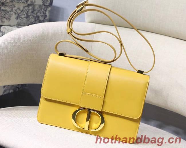 Dior 30 MONTAIGNE CALFSKIN BAG M9203 yellow