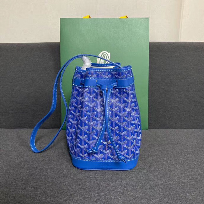 Goyard petit flot drawstring Bag G6959 blue