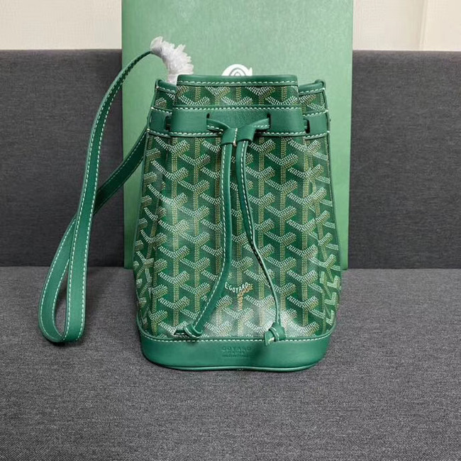 Goyard petit flot drawstring Bag G6959 green