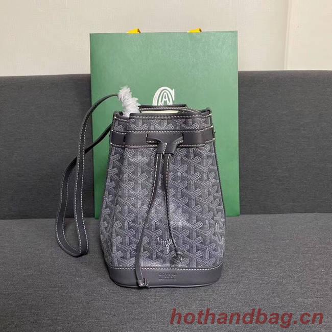 Goyard petit flot drawstring Bag G6959 grey