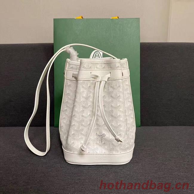 Goyard petit flot drawstring Bag G6959 white