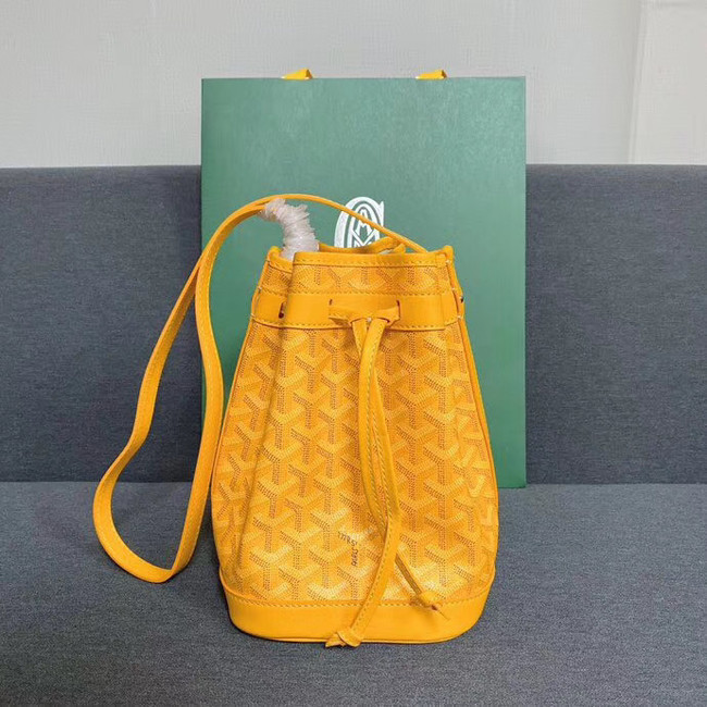 Goyard petit flot drawstring Bag G6959 yellow