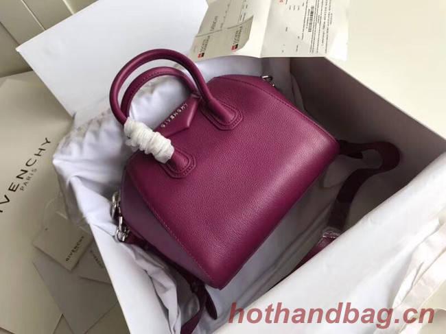 Givenchy Grained Calfskin Small Antigona Bag BB0511 purple