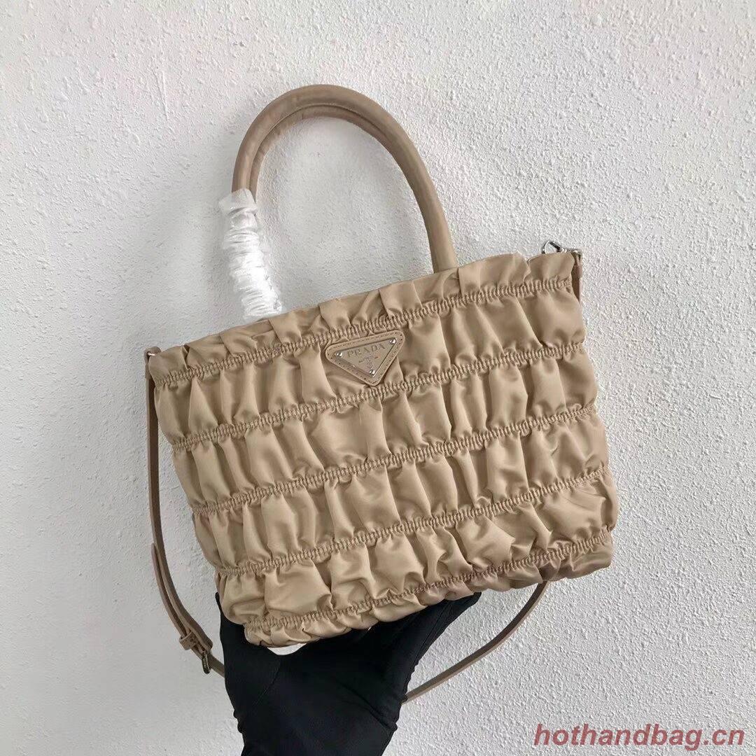 Prada Re-Edition nylon Tote bag 1BG321 apricot