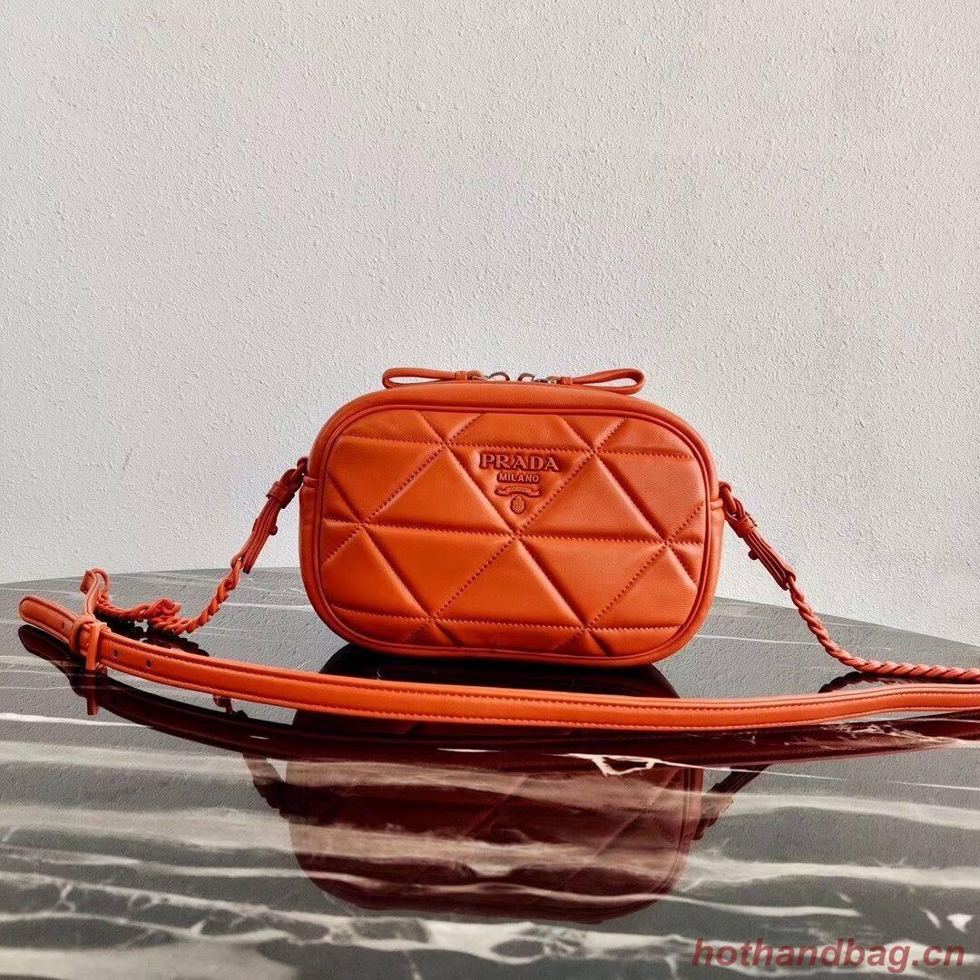 Prada Spectrum shoulder bag 1BH141 orange