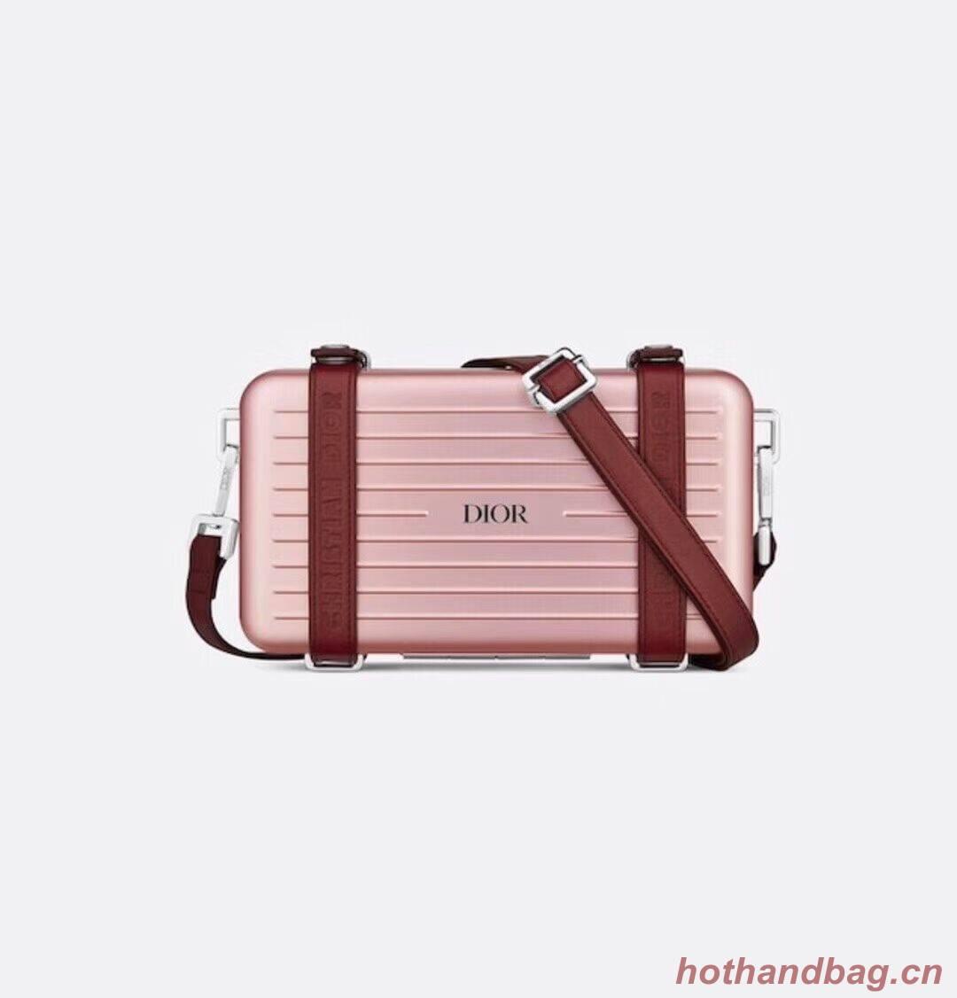 DIORAMA CALFSKIN CLUTCH M2020 pink