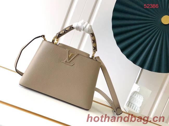 Louis Vuitton CAPUCINES PM M523867 grey
