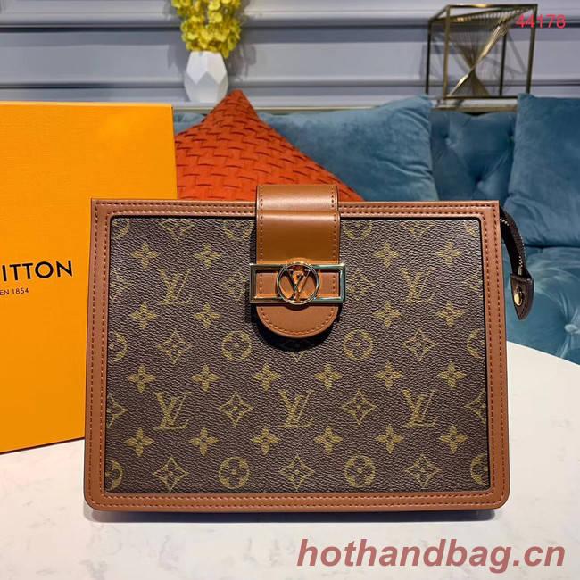 Louis Vuitton Original Clutch M44178 brown