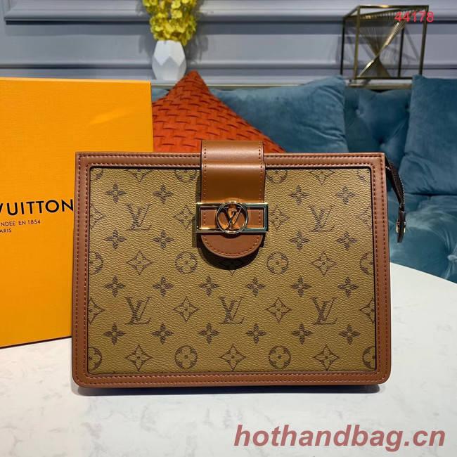 Louis Vuitton Original Clutch M44178 yellow