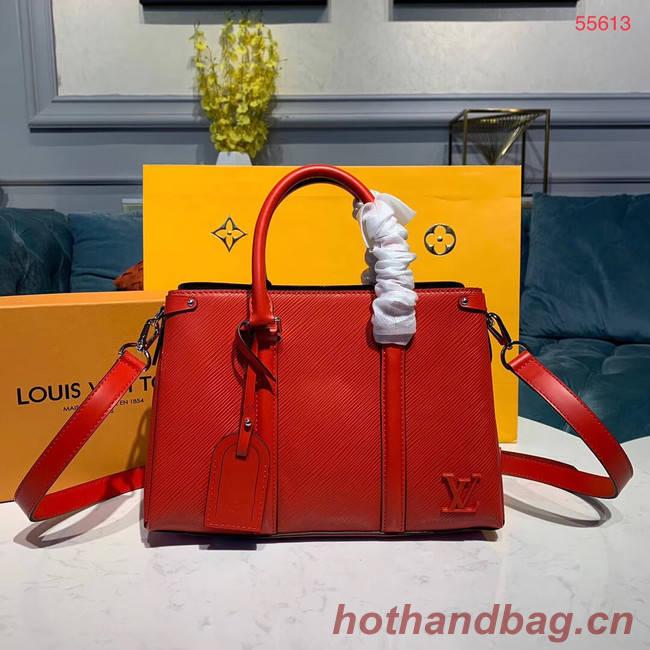 Louis Vuitton SOUFFLOT BB M44815 red