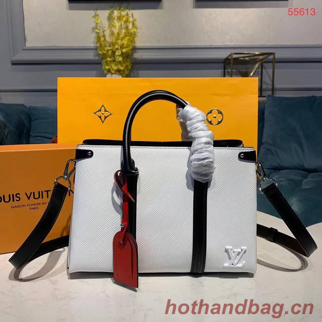 Louis Vuitton SOUFFLOT BB M55613 white