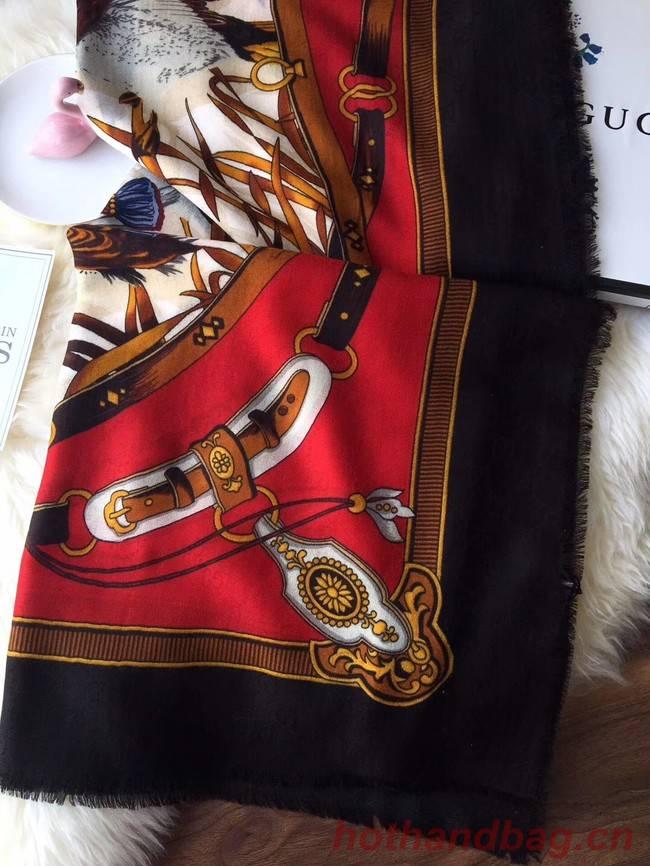 Gucci silk Scarf GG55621