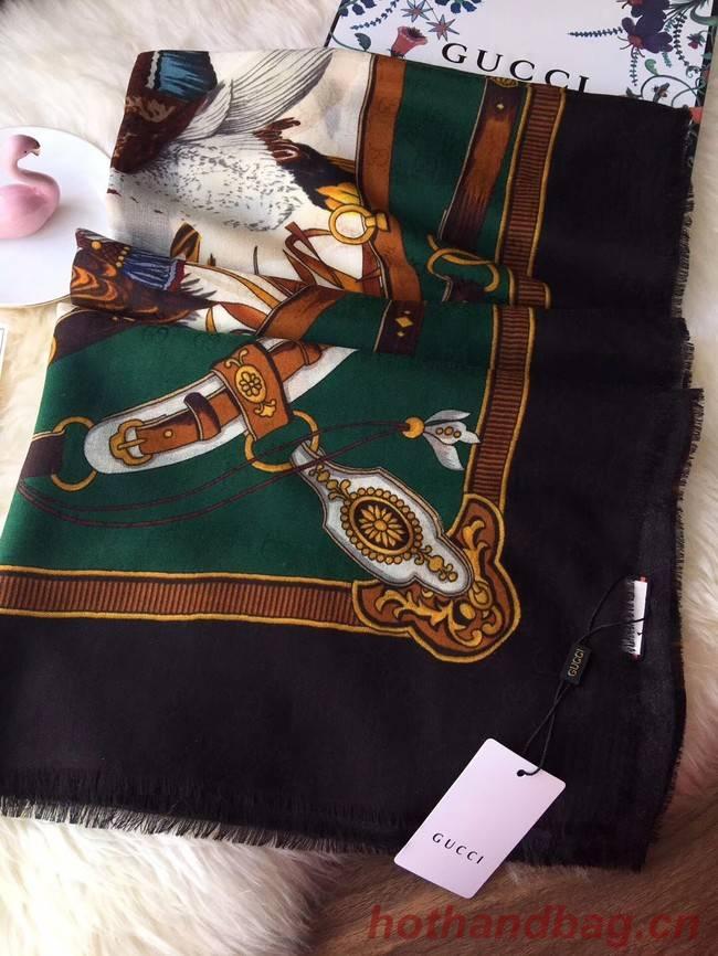 Gucci silk Scarf GG55622