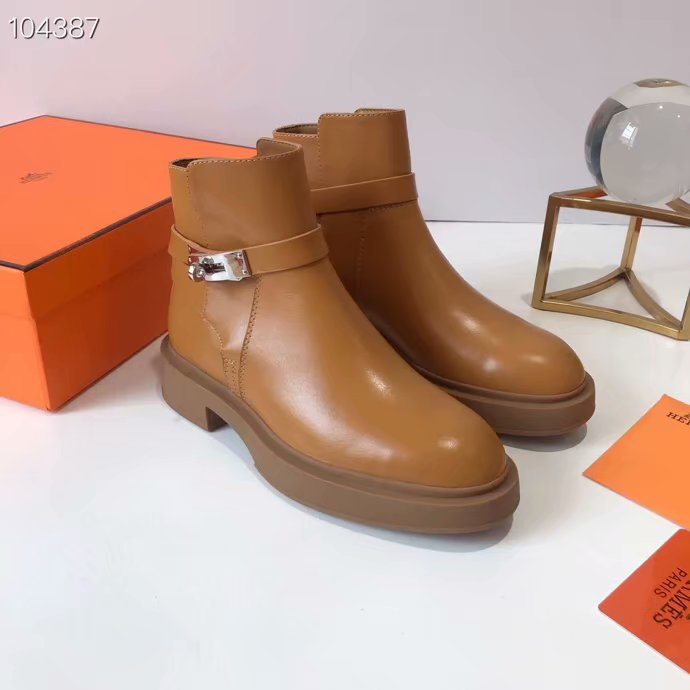 Hermes Short boots HO849JYX-2