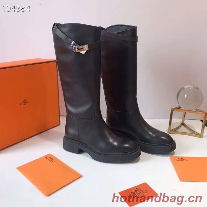 Hermes thigh boot HO850JYX-2