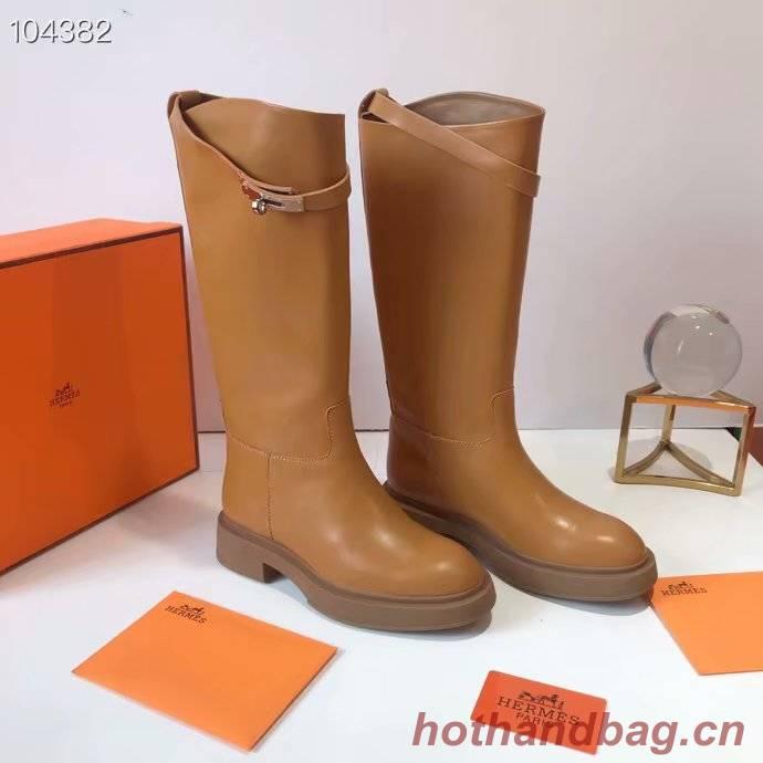 Hermes thigh boot HO850JYX-4
