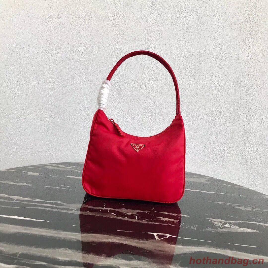 Prada Re-Edition nylon Tote bag MV519 red