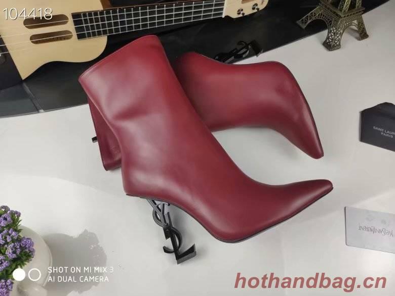 Yves Saint Laurent Short boots YSL470TMC-1