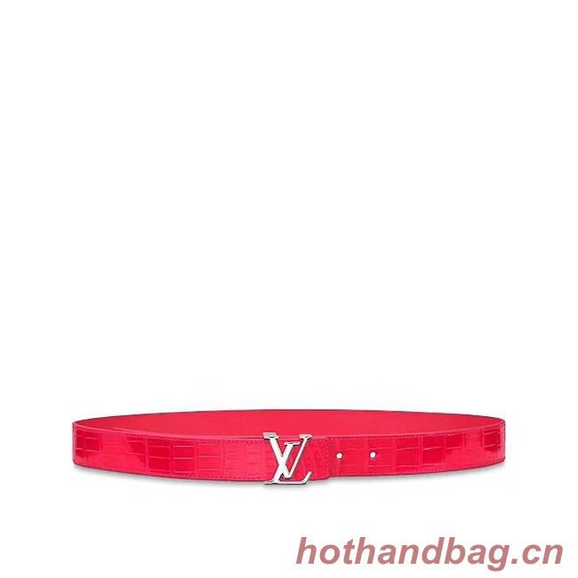 Louis Vuitton Leather Belt M0203W 30MM